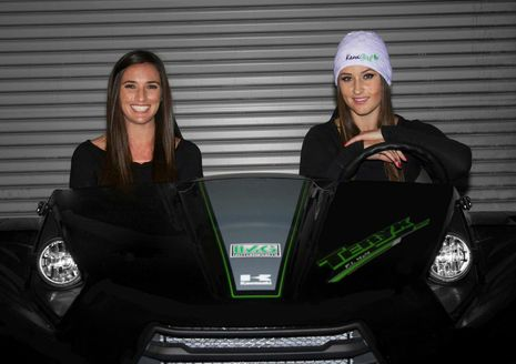 Kawasaki UTV Racing Girls